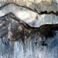 fs9, 101x152x1.6cm, mixed media on canvas, 2014