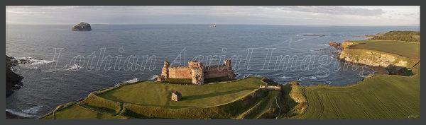 Tantallon Castle Panoramic