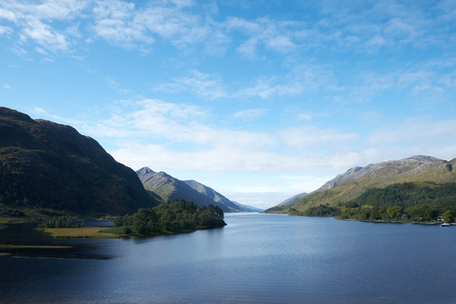 Loch Shiel from the Jacobite Monument