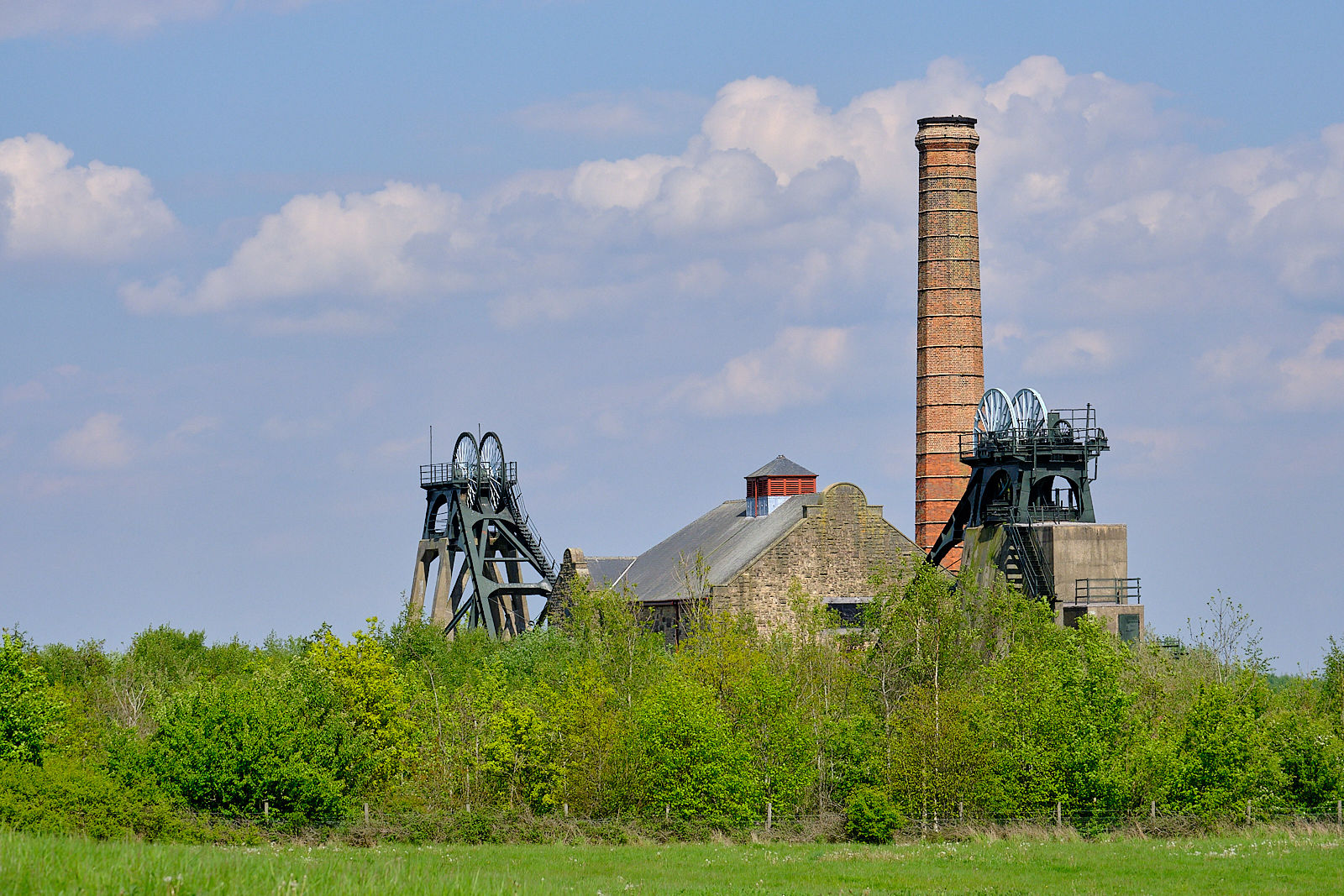 Pit Head at Pleasley Nature Reserve