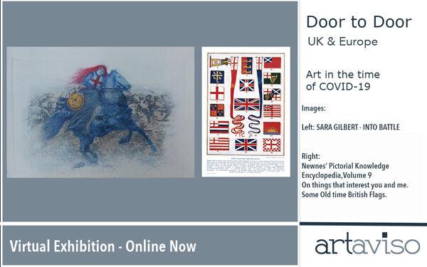 Into Battle - Door to Door UK & Europe exhibition