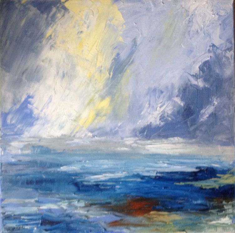 Light Over Sea. SOLD
