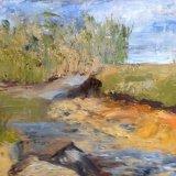 River Teme at Burrington, Shropshire