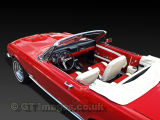 Red '68 Mustang Convertible
