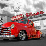 Big Moe's Diner With '53 Chevy