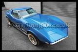Corvette Blue 427 1968