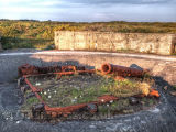 Cannon Site from WW2 in Jersey