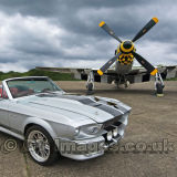 Eleanor Mustang With P51