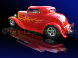 Flaming Roadster