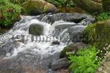 Waterfall at Hexworthy Dartmoor