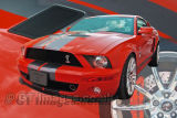 Red Shelby GT 500