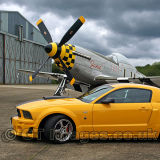 Roush Mustang With P51