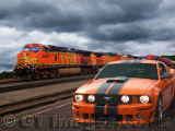 US Freight Train and the Roush