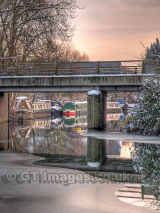 View Under the Bridge on a Winters Day