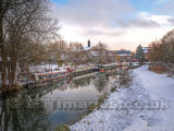 Winter Moorings at Sawbridgeworth