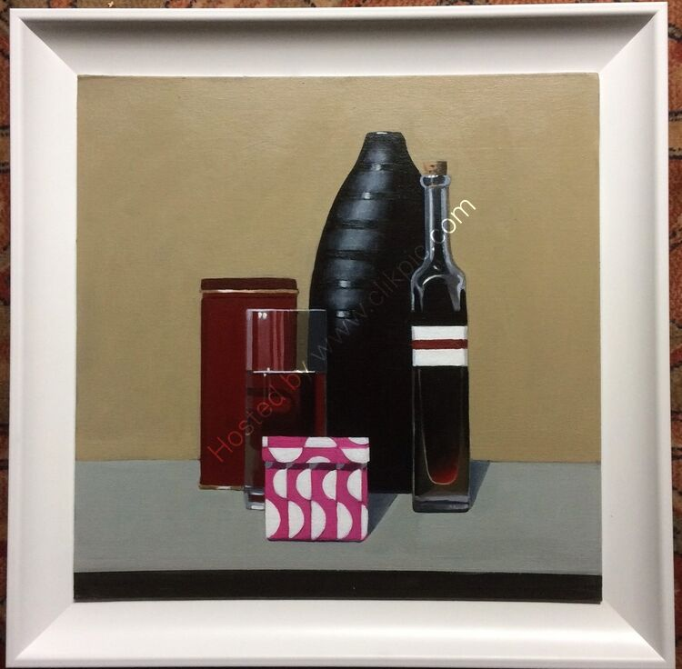 Still Life with Gift Box