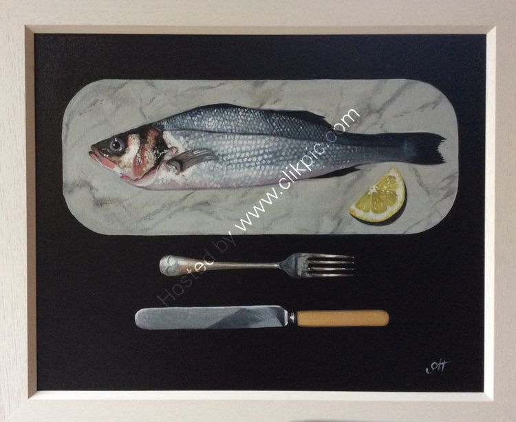 Sea Bass with Cutlery