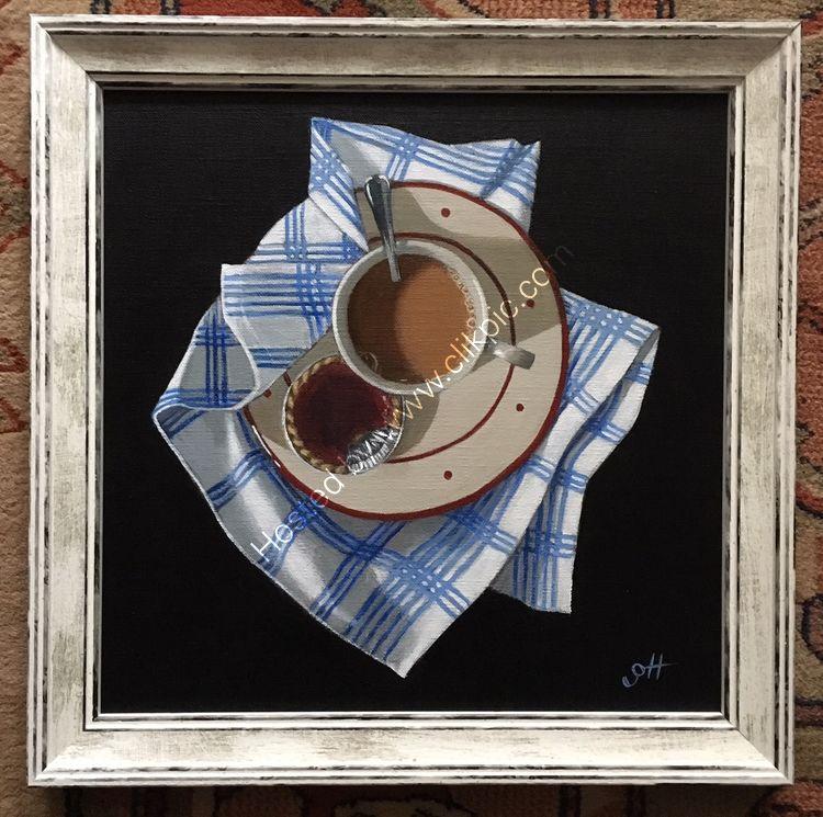Tea and Jam Tart