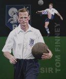 Tom Finney. Preston North End and England football legend.