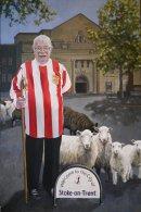 Neil Baldwin (Nello) ex Stoke City kit man.