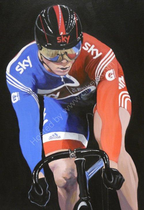Sir Chris Hoy, Cycling