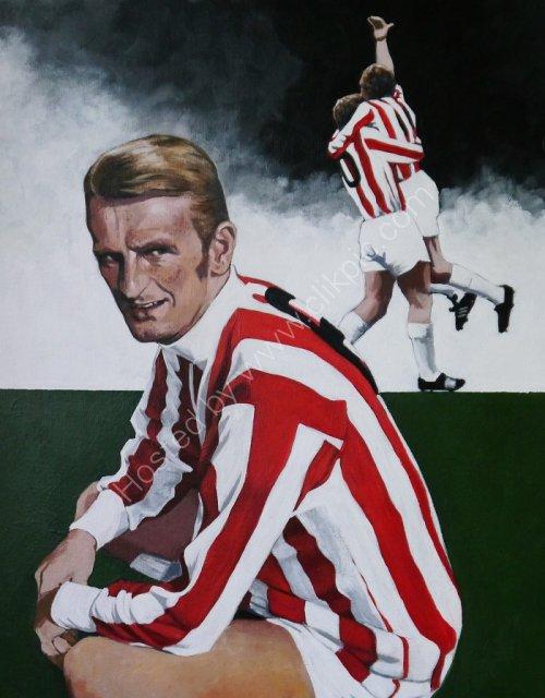 George Eastham Stoke City FC