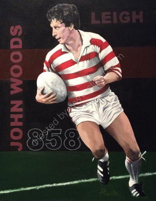 John Woods, Leigh Rugby League Club