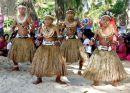 Dancing on the Beach, Rabi Island, Fiji