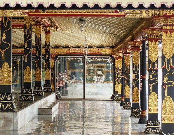 Entrance to the Golden Pavilion, Sultan's Palace, Java