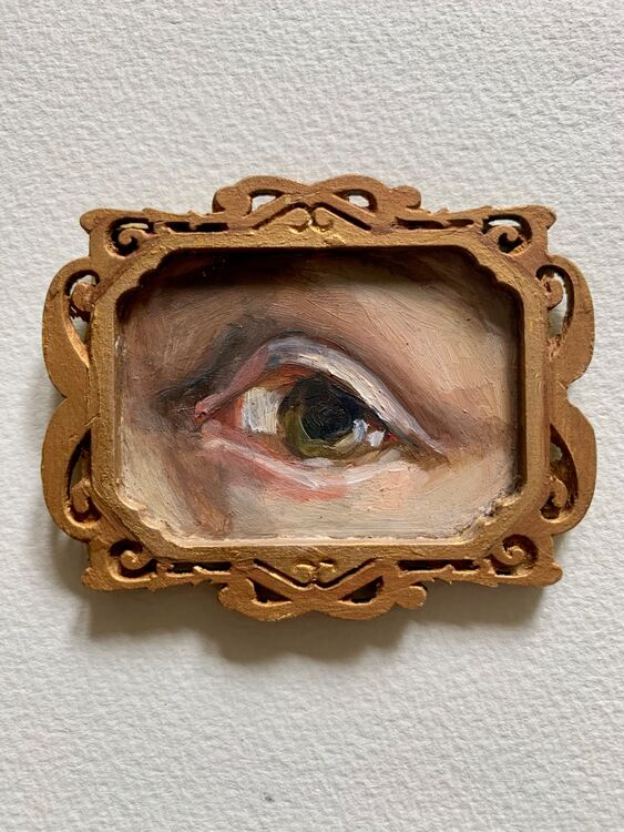 Her Gaze, the eye of Artemesia Gentileschi
