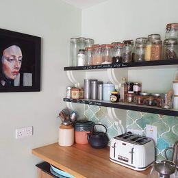 Open studio kitchen
