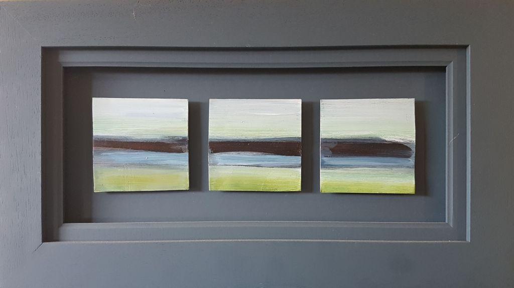 Accidental Landscape - triptych