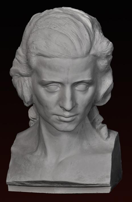 B042 Busto Femminile 1700