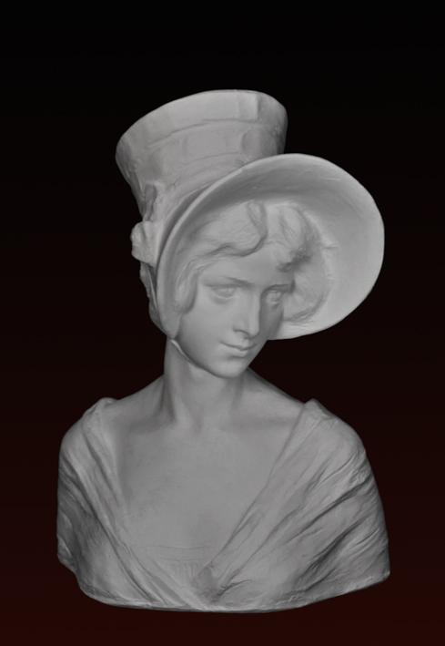 B082 Donna con capellino 1900