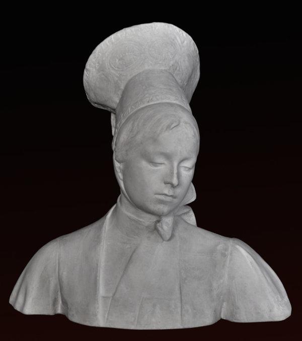 B083 Busto di Donna - Pietro Canonica