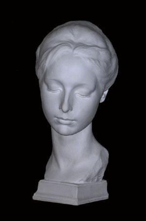 B084 Testa Femminile - 1900