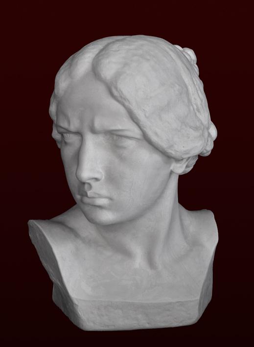 B091 Ritratto di donna 1900