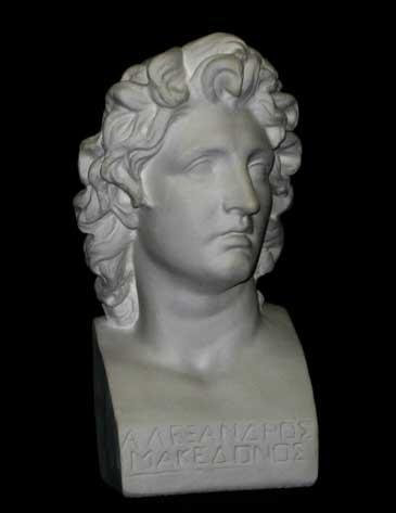 B169 Alessandro Magno - piccolo busto