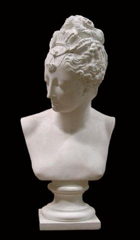 B189 Busto con Diadema