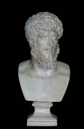 B194 LUCIO VERO Imperatore- piccolo busto