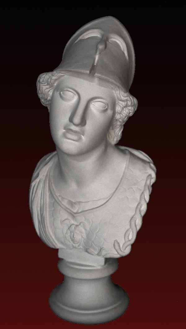 B253 Minerva con elmo