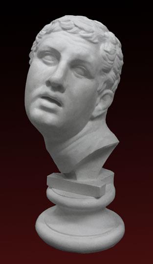 B287 Testa del Gladiatore Borghese