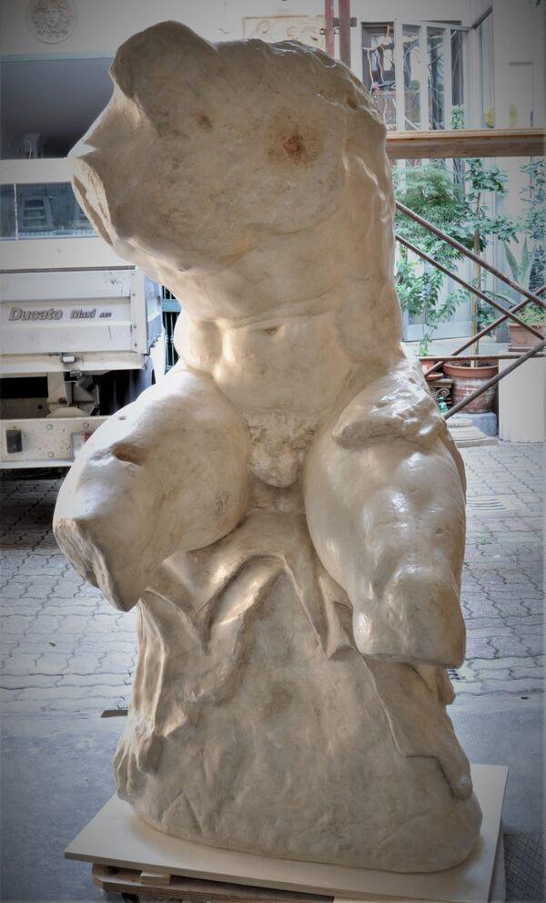 Torso del Belvedere- finto marmo antichizzato