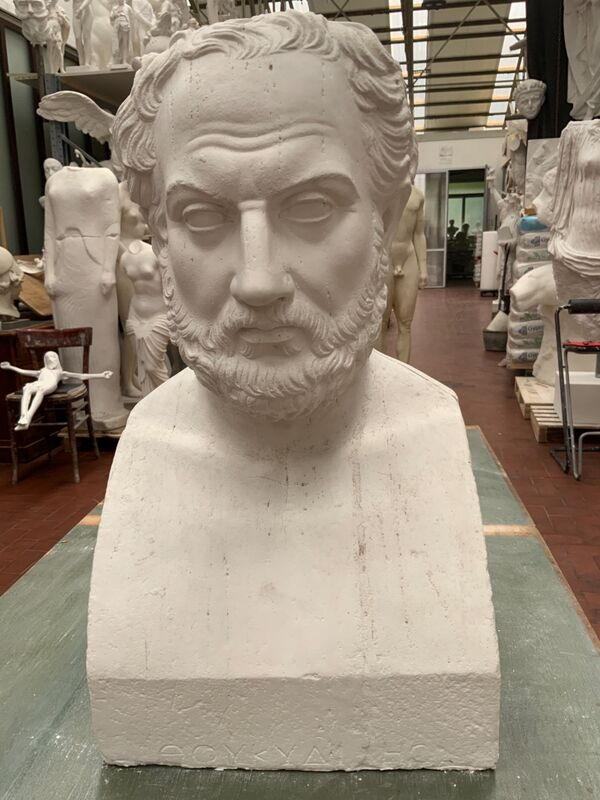 Eschilo, ateniese, poeta e drammaturgo greco.