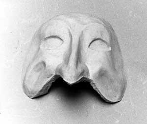 M075 Bautta  maschera teatro