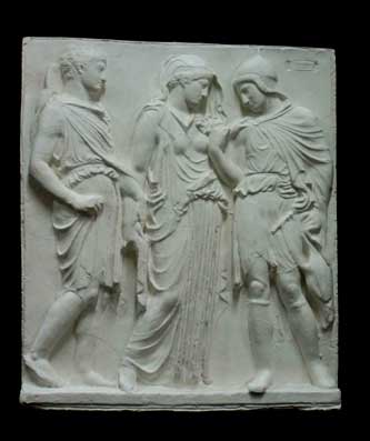 R018 Fregio Partenone - Orfeo ed Euridice