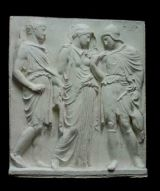 R018  Fregio Partenone-Orfeo ed Euridice