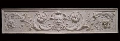 R117 Fregio ornamentale con mascherone