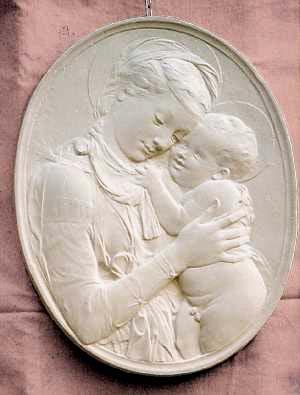 R131 Madonna con bambino
