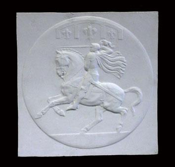 R140   Giovanna D'Arco a cavallo